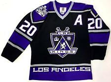 LUC ROBITAILLE LOS ANGELES KINGS 1999 AUTHENTIC ON ICE STARTER JERSEY SIZE 48