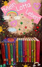 Büchersammlung Kinder Lotta-Leben Band 1-5 im Schuber und Band 6 bis 15