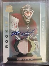 2014-15 The Cup Hockey Mark Visentin Rc Auto Patch 35/249 Coyotes