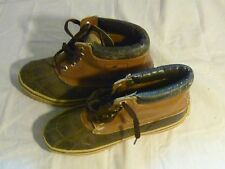 Men's MERRELL EXPLORER Tan Leather Hiking Ankle Boots size 6 medium 14018