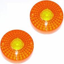 2x Blinkerglas Blinkergläser f. HONDA CB 750 FOUR K7 '77-'78 / 2x indicator lens