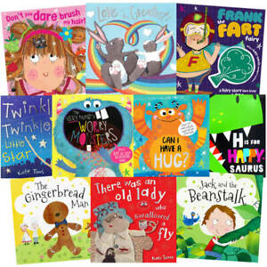 Happy Stories: 10 Kids Picture Books Bundle (Book Collection), Books, Brand New