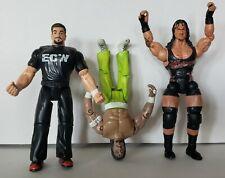 Tommy Dreamer Sabu Rhino ECW & TNA Wrestling Figures 1999 OSFTM Impact Series 4