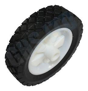 "6"" X 1.5"" Plastic Wheel Suits Many Lawnmowers"