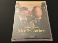 Men & Chicken (Blu-ray / DVD, 2-Disc Set) Mads Mikkelsen, Drafthouse Films