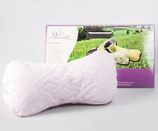 13 inch Buckwheat Pillow. Firm Neck Back Pain Relief Travel Size Pillow