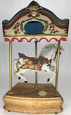 "Willitts, Tobin Fraley ""signed� Carousel Horse Music Box. 2450/9500 #5038"