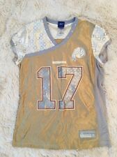 db5a3bfbd Reebok Women s Redskins Jersey Campbell  17 Gold Studded Short Sleeve Size M