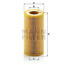 Mann Oil Filter Element Metal Free For Audi A3 RS3 quattro