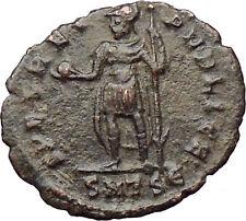 Julian II as Caesar w globe and spear 355AD Ancient Roman Coin Rare  i30342