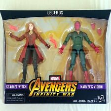 SCARLET WITCH and VISION Marvel Legends 6-in Action Figure 2-Pack TRU Exclusive