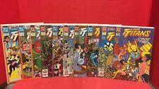 Lot Of 10 Team Titans #1-9 12 DC Comics 1992 Total Chaos Mirage Nightrider Perez
