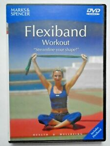 Flexiband Workout DVD - Streamline Your Shape - Marks & Spencer DVD