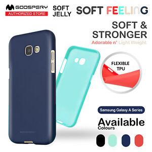 Samsung Galaxy A8+ A8 A7 A5 Mercury Soft Feeling Jelly Gel Silicone Cover Case
