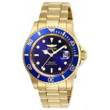 Invicta Pro Diver 26974 Analog Quartz Men's Watch 40mm - Blue/Gold