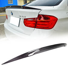 Carbon Fit For BMW SEDAN F30 F80 HIGH P Type REAR TRUNK SPOILER 328i 2012-2018