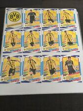 Borussia Dortmund Match Attax 17/18 Champions League Trading Cards Full Team