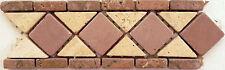 Rosone rosoni mosaici in marmo  greca ART 101/1 IN MARMO CM 31X10