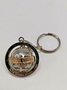Collectible Vintage Universal Studios Key Chain - Rotating Globe
