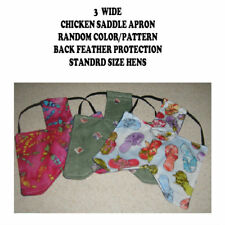 3 WIDE Chicken Saddle Apron Hen Jacket BACK FEATHER PROTECTION BACKYARD POULTRY