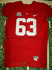 VTG Nike 2007 Alabama Crimson Tide Authentic Game Used Worn Football Jersey 54