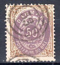 Denmark - 1875 Definitives Numeral - Mi. 30 I FU