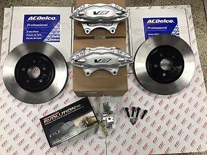 2008-09 Pontiac G8 Brembo Front Caliper Brake Upgrade w/ GM Black Hat Rotors