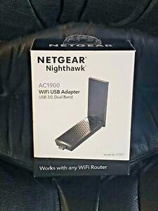 Brand New Netgear Nighthawk AC1900 WiFi USB Adapter USB 3.0 A7000-10000S NIB