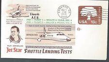 1976 Test flights Shuttle Landing on Jet Star by Pilot Don Mallick