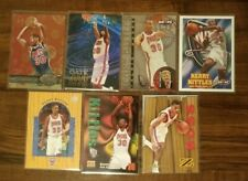 Kerry Kittles Lot of 7 Basketball Cards New Jersey Nets (Rookie, Insert, Etc)