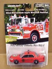 82nd Shenandoah Apple Blossom Ford Crown Victoria Fire Chief Car by Greenlight