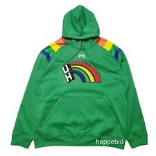 New Other Under Armour Uh Hawaii Rainbow Warriors Pullover Men Xl Fast Shipping