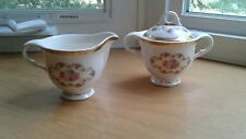 American Limoges Fortune Candlelight 22 KT Gold 1LC422 Creamer Sugar Bowl W/Lid