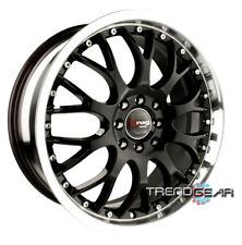 17 DRAG DR19 WHEELS RIMS MATRIX SCION TC AUDI TT LANCER