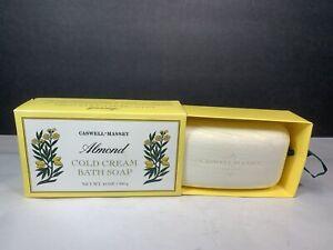 Caswell-Massey Almond Cold Cream Bath Soap 10 oz 300 g Big Bar New