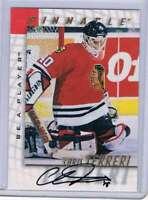 1997-98 Be A Player Autographs #30 Chris Terreri NM-MT Auto Blackhawks