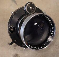 SCHNEIDER - LINHOF Tele-Xenar 270mm F/5.5 Large Format Camera LENS * READ