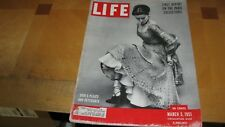 1951 LIFE MAGAZINE MARCH 5 DIOR PLEATS PETTICOAT HIGH GRADE LOWEST PRICE ON EBAY