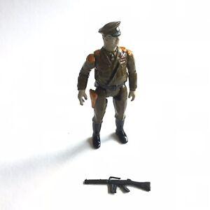 "Eagle Force General Mamba & Gun Mego 1981 Die-cast 2.75"" Military Army War"