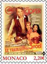 monaco 2017 Train whistle three times film art cinema GRACE KELLY Gary Cooper 1v
