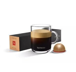 Nespresso Vertuo Melozio Decaffeinato Capsules -2 x10 Capsules B/B 30.06.22 NEW