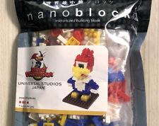 Nanoblock Woody Woodpecker Universal Studios Japan USJ Kawada Brick NEW