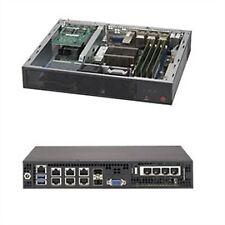 Supermicro System SYS-E300-8D Mini-1U Xeon D-1518 FCBGA 1667 2.5 inch Fixed