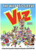VIZ ANNUAL 2021 The Wizard's Sleeve HARDCOVER *BRAND NEW* FAST&FREE