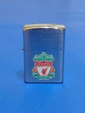 More details for stunning liverpool football club zippo cigarette lighter frosted chrome g.w.o