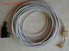 Telefon-Anschlusskabel 10 m für elfenbeinfarbene W 48,W49, NEU, mit TAE (Bild)