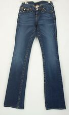 True Religion Juniors  World Tour Becky Fashion Jeans Size 25 Made In USA