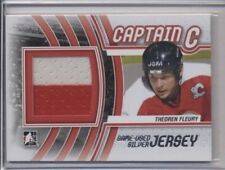 2012 In The Game ITG Captain C Jersey Theoren Fleury