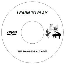 LEARN HOW TO PLAY PIANO KEYBOARD CD DVD - LESSONS VIDEO GUIDE TUTORIAL ALL AGES