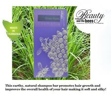1 x Beauty and the Bees Grass Roots Vetiver Hair Shampoo Bar Australian Made.